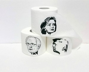 Includes Hillary, Bernie, and Trump. I'm sure the Trump one sold the most for obvious reasons.