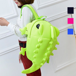 Comes in 4 colors or so it seems. But at least this lizard seems adorable enough. Unlike the gross bug backpacks.