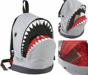 Well, it only shows the shark head. But it looks pretty awesome and amusing if you think about it.
