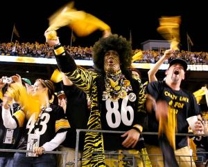 But even he wouldn't wear those ugly bumblebee throwback uniforms.But he would paint his face in stripes.