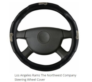 Because why deal with the steering wheel you already had when you bought the car? It doesn't show support for your team. Seriously, why?
