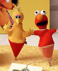 Okay, Big Bird seems quite evil in this. Elmo seems like he's been in a bad accident and has never been the same since.
