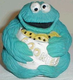 Seems like combination between Cookie Monster and Jabba the Hutt. That or Cookie might have a problem.