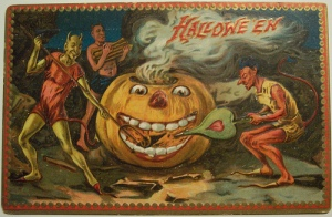 And it seems that the pumpkin is craving for more wood. Demons need to keep up the pace.