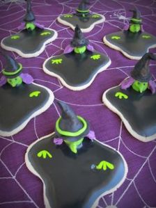 And no, you can't just add water to them like in the Wizard of Oz. These are sugar cookies. They take time to decorate.
