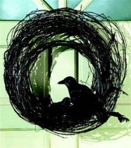 Or crow wreath if you want to get specific. Still, best if the wreath and the birds match in color.