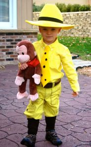 You know, the man who owns Curious George. Thought so. Still, not a hard costume.