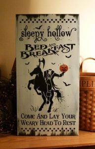 The place for those who actually want to see the Headless Horseman. Just come and lay your head.