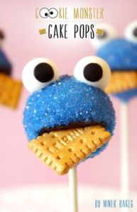 Like how these have a cookie stuck in his mouth. That's just so perfect.