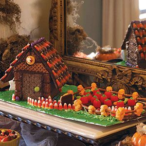 Sure most of it consists of inedible candy corn and waffle cookies. But it's a haunted delight.