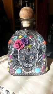 I had one featured in my Cinco de Mayo craft post in April. But not nearly as colorful as this one.