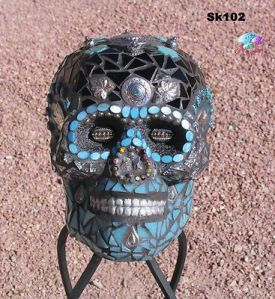 Yes, it's another mosaic skull. And yes, you'll see a lot of these. But this one really has a lot going for it.