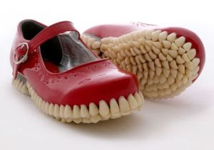And I mean literally in this case. Might be fine to walk in them. But they're quite creepy.