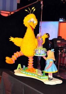 I think this was featured in a show on the Food Network. Still, Big Bird looks so lifelike here.