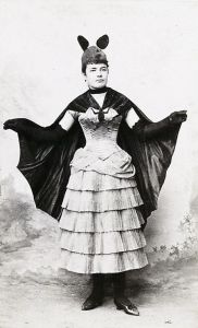 However, she doesn't see a lot of action with Batman and Robin. Mostly because 19th century women's fashions weren't built for comfort. Seriously, she could barely breathe in her corset.