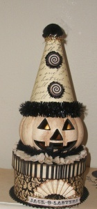 You might want to use a craft pumpkin before you proceed with this. Just so you know. But yes, it's kind of creepy.