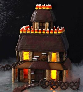 Since it's really not that great for anything else. After all, gingerbread houses are mostly for decoration.