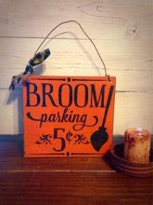 Of course, you can store your brooms anywhere like in a closet. But be sure yours has your name on it.