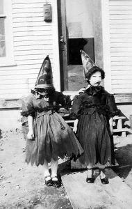 These little girls aren't around just to trick or treat. In fact, they want to terrorize the neighborhood.
