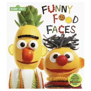 Not sure if these are for eating. But I like how Bert has the top of a pineapple as hair. The licorice lips are also clever.