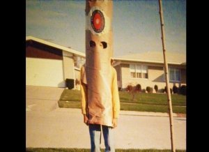 Not only does this costume look terrifying, it embodies what can actually kill you. You know tobacco.