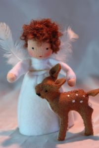 Tis the season for cute angels as always. But I'm sure this is bound to melt frozen hearts.