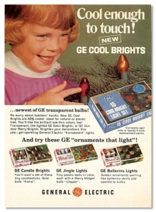 "Cracked: ""OK, this kid is a little too on board with whatever is going on here. In 1970, GE wanted you to know that their lights were cool to the touch, and this little kid wanted to make sure that was the most awkward thing you learned about all day. Now, it's not this kid's fault that she got a haircut as bowl-shaped and lopsided as one of the Three Stooges, but the look on her face says that either there is something really freaky going on off-camera to the right or she's possessed. You can decide which is creepier."""