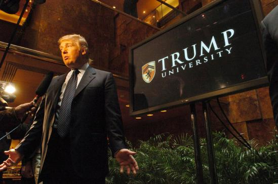 Donald Trump Promotes 'Trump University'