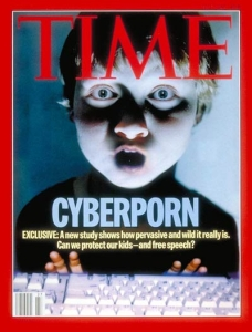 To be honest, online porn exposure in children is a very real concern in this day in age. But this cover really makes it horrifying.