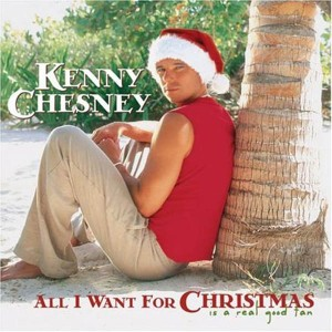 I heard that Kenny Chesney used a similar photo shot for his audition for Magic Mike but was rejected. So he decided to go for a variation for his Christmas album.