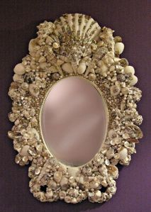 Yes, I know I show a lot of unique mirror frames on this post. And I know many of these aren't very practical. But they're worth seeing I guarantee you.