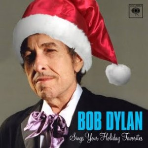Yeah, that Santa hat is totally photoshopped. Also, Dylan, if you should release a Christmas album the next time, let it be one where you write the songs.