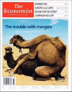 So what the hell does camel sex have to do with mergers? Seriously, that makes no sense whatsoever. And it makes camel parents angry.