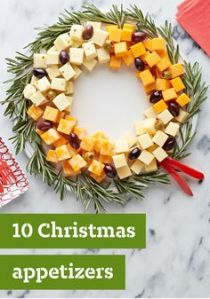Well, it has a few kinds of cheese plus olives. Gives the wreath a little more color doesn't it?