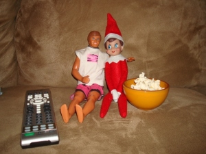 Okay, I don't think Barbie will like this. But Jingle Bell doesn't seem to care one bit.