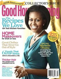 Or an evil robot of Michelle Obama that has killed her and taken her place. Yes, this is terrible photoshop indeed.
