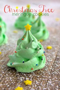 You can even decorate these with sprinkles and a star. Yet, they will always resemble green cream puffs to me.
