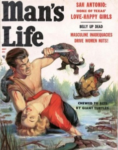 Sure turtles might have a vicious side. But this cover just seems too hard to take seriously.