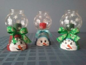 Yet, note that they could actually melt snowmen. Still, these are adorable.