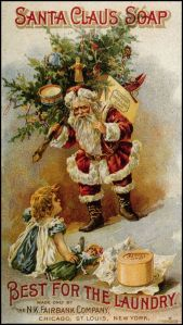 Okay, the Santa isn't that bad in this one, strangely enough. But if I were him, I'd watch out for that creepy child. She may have murder on the mind if St. Nick doesn't give her the chainsaw and hockey mask she wanted.