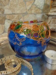 Sure it seems like a decorated fish bowl. But you have to love how it's painted.