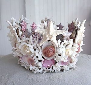 Okay, it's more of a crown than a tiara. But come on, any mermaid princess would want one like this.