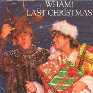 "From First Draft: ""Poor Andrew Ridgely. Wasn't it bad enough to be George Michael's sidekick? They had to make the poor bastard a reindeer. I hope no Norwegian tried to eat him. That would not be Whamtastic."""