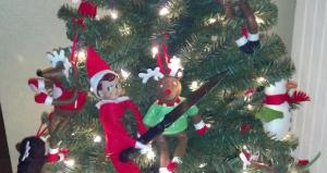 No, Crumby, you don't pull a knife on Rudolph the Red-Nosed Reindeer. Hell, you don't pull a knife on anybody.