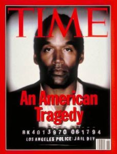 No, O.J. isn't that black. But don't tell the people of Time. And yes, I do believe he did it since he's had a record of abuse.