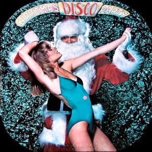 Yeah, Santa, wait until Mrs. Claus finds out about you and that blonde. Boy, you're sleeping in the doghouse tonight.