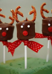 They even have pretzel antlers. And are covered in a chocolaty goodness.
