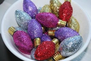 You can even make ornaments out of them if you want. Or you can put them in a bowl.