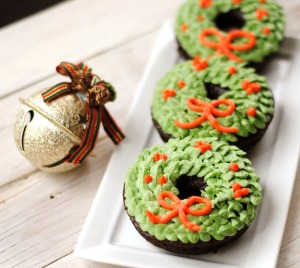 These are a more fancy design and use intricate candy and icing. Still, these are great for any Christmas party.