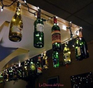 Think about combining empty wine bottles with Christmas lights. Might make neighbors wonder about your drinking in the meantime.